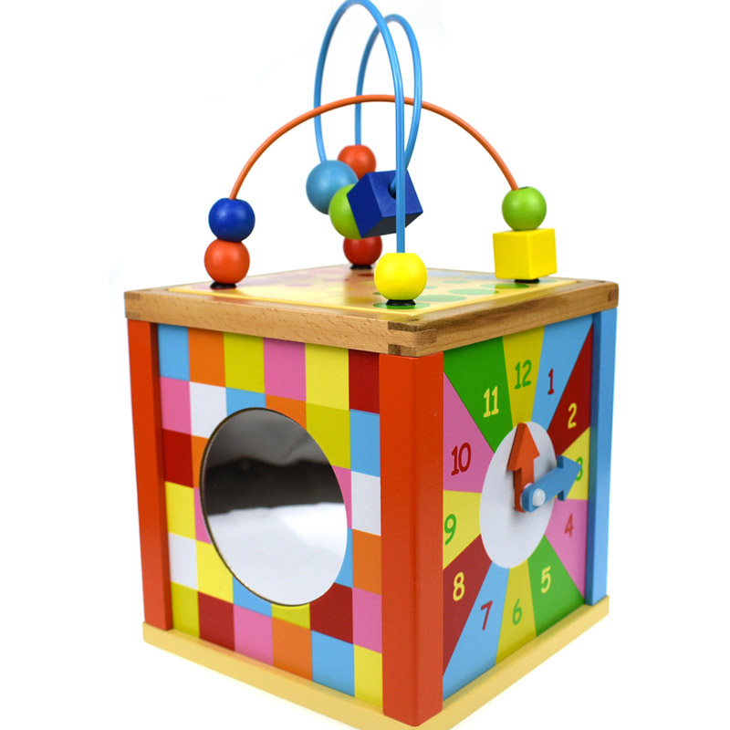 Wooden Toy Activity Centre