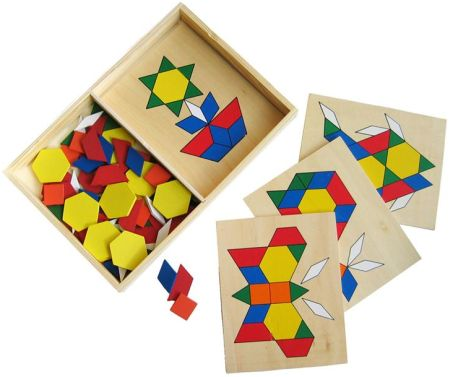 Build A Picture  Puzzle Shape Set