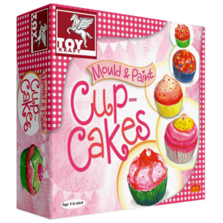 Craft Mould & Paint Cup Cakes