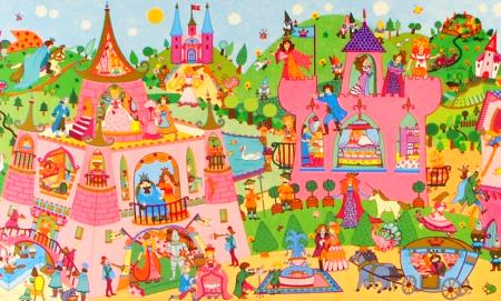 Djeco Princess Discovery Puzzle