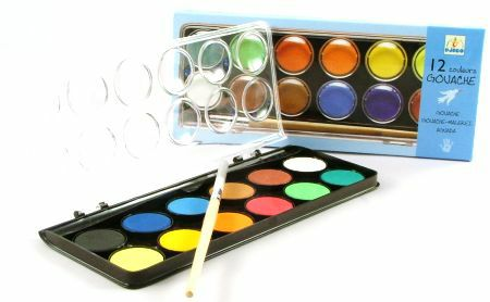 Djeco Water Colour Gouache Paint Set