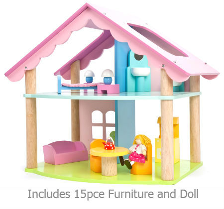 Dolls House Wooden Mia Casa