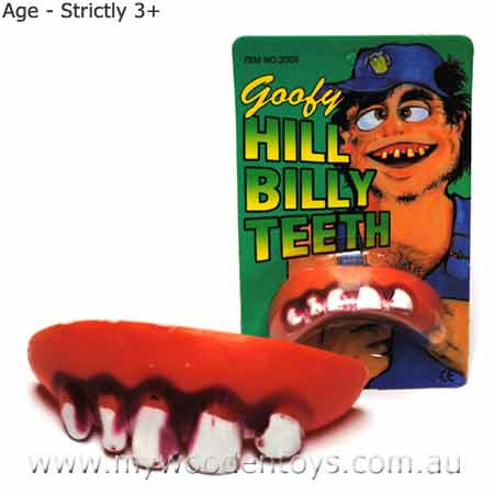 Joke Horrible False Teeth
