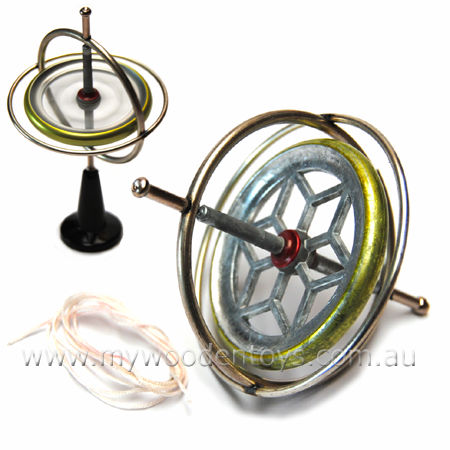 Gyroscope Traditional Toy Tedco