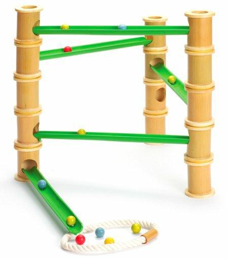 Hape Bamboo Marble Run Scivolino