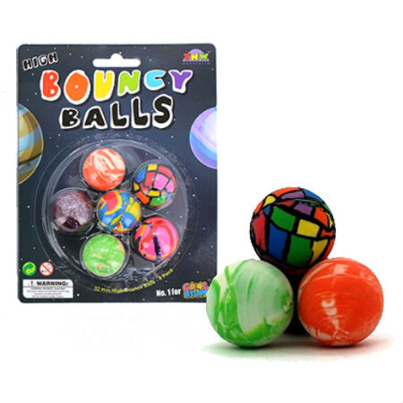 High Bounce Balls 6 Pack