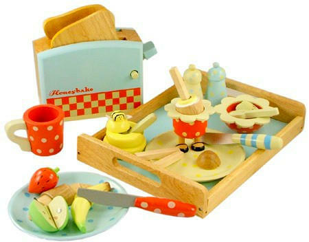 Breakfast Set Le Toy Van Honeybake Play Food Set