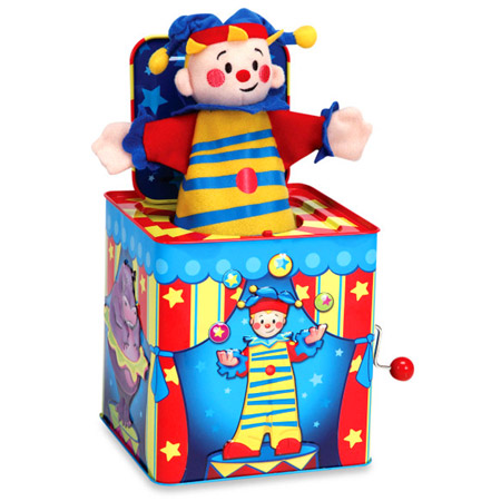 Jack In The Box Musical Clown