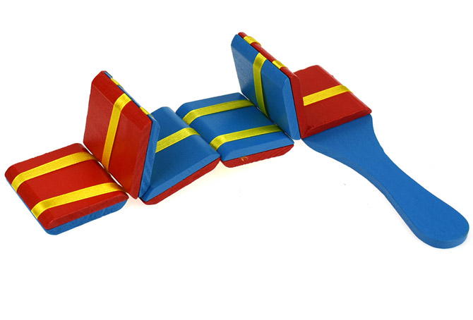 Jacobs Ladder Wooden Illusion Toy