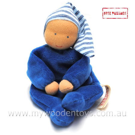 Kathe Kruse Nicki Baby Bean Bag Doll