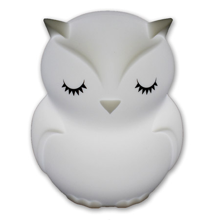 Soft Silicone Night Light Owl