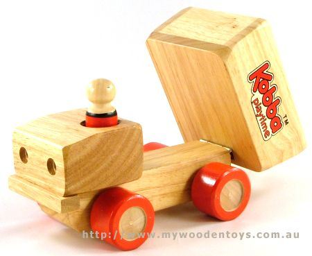 Kobba Wooden Toy Pick up Truck