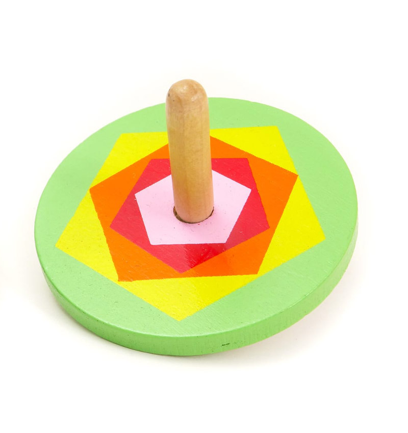Large Wooden Spinning Top