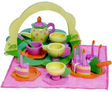 Wooden Le Toy Van Fairy Tea Set
