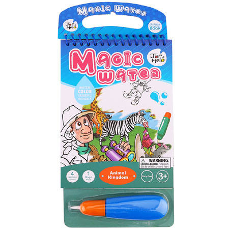 Magic Water Animal Colouring Pad