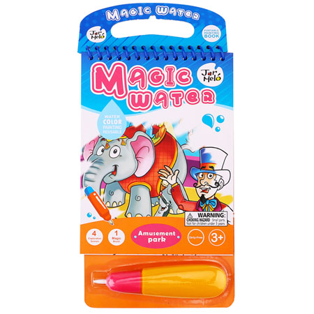 Magic Water Fun Park Colouring Pad