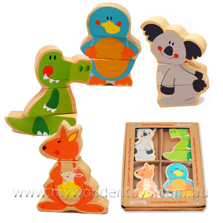 Magnetic Mixup Aussie Animal Set
