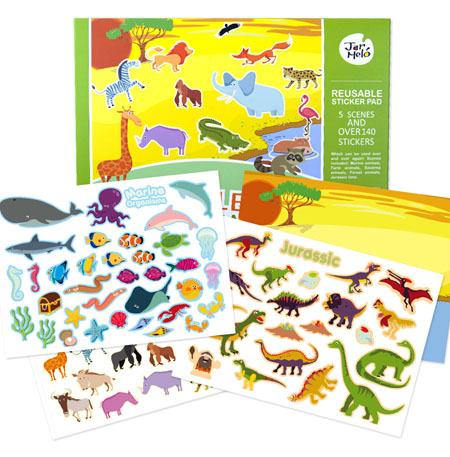 Reusable Stickers Animals