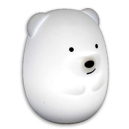 Soft Silicone Night Light Teddy Bear