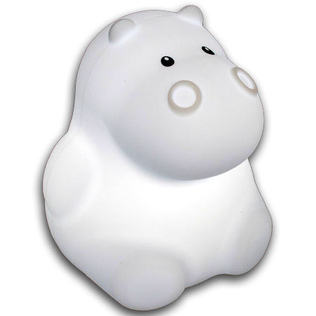 Soft Silicone Night Light Hippo