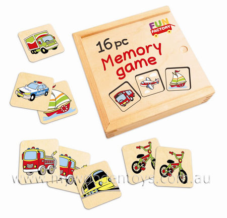 Simple Wooden Memory Game