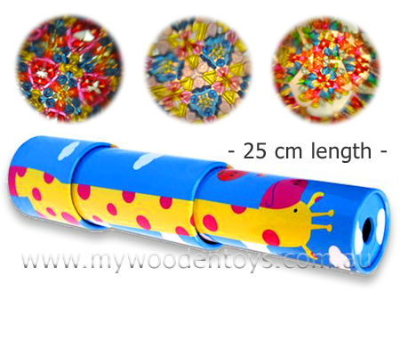 Telescopic Tin Kaleidoscope