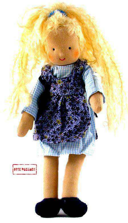 Waldorf Mini Its Me Blond Girl Toy Doll