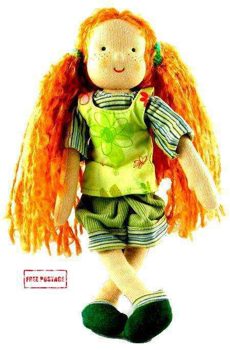 Waldorf Mini Its Me Red Girl Doll