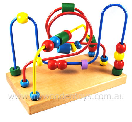 Bead Maze Traditional Toy