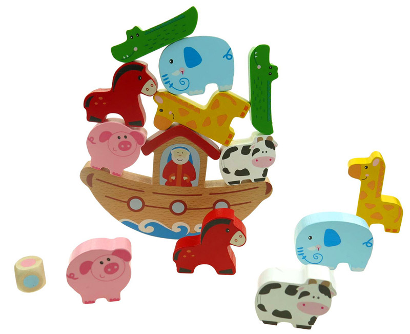 Noah\'s Ark Wooden Balance Game