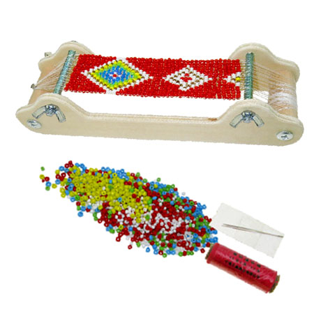 Wooden Bead Loom Bracelet Maker