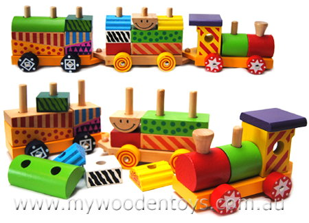wooden push toy with blocks 3