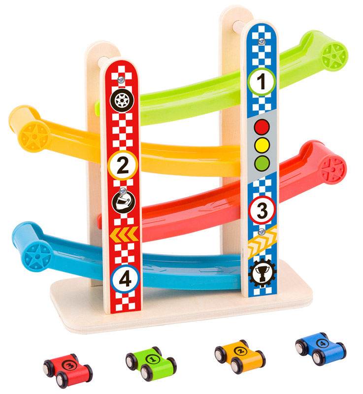 Wooden Zig Zag Car Slider