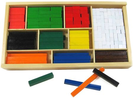 Cuisenaire Rods Wooden