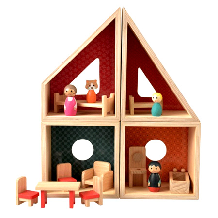 Modular Wooden Doll House