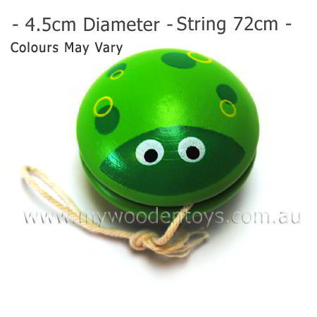 Wooden Toy Insect Yoyo