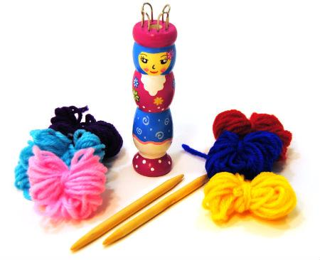 French Knitting Nancy Doll