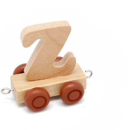 Wooden Name Train Letter Z