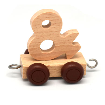 Wooden Name Train Symbol
