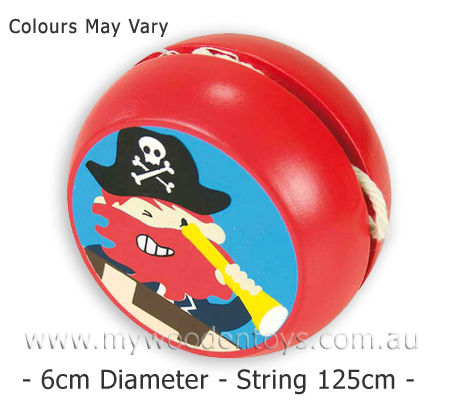 Wooden Pirate Yoyo