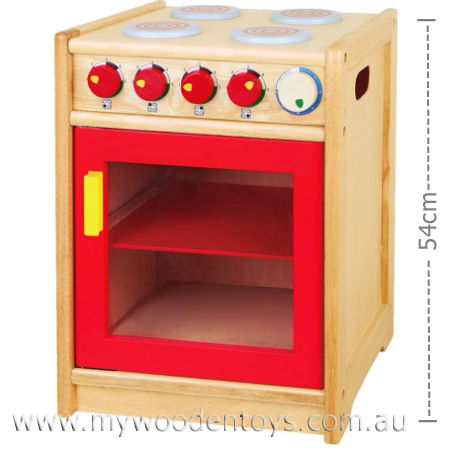 Wooden Oven with Stove Cooktop