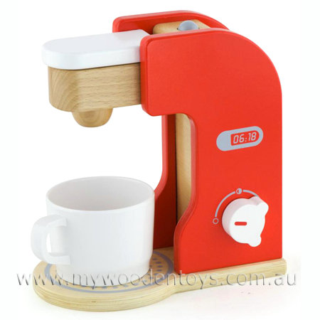 Wooden Toy Coffee Maker