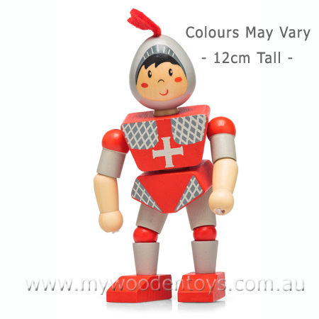 Wooden Toy Flexi Knight