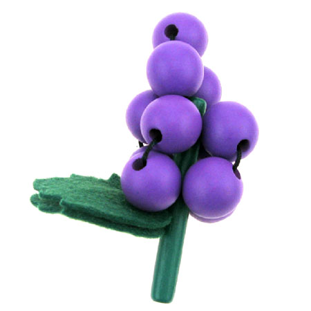 Wooden Toy Grapes