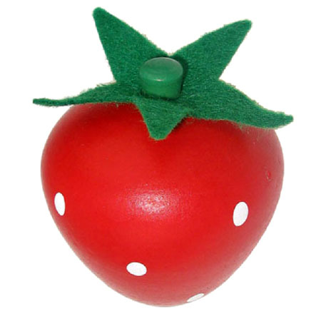 Wooden Toy Strawberry