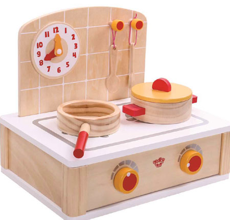 Wooden Toy Kitchen Stove