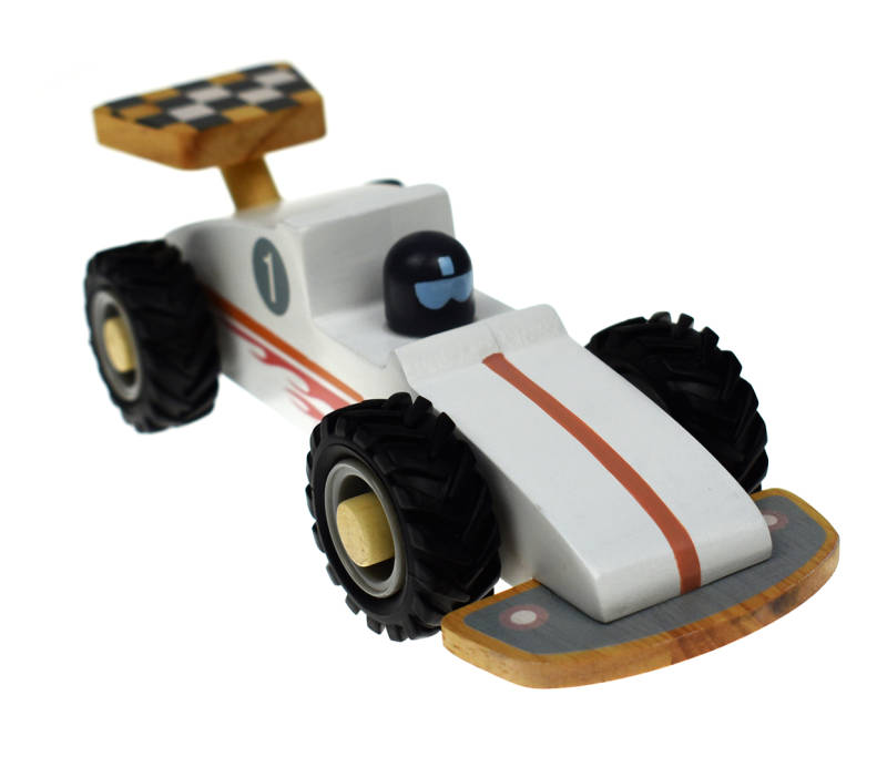 Wooden Toy Racing Car