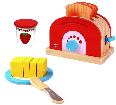 Wooden Toy Pop Up Toaster