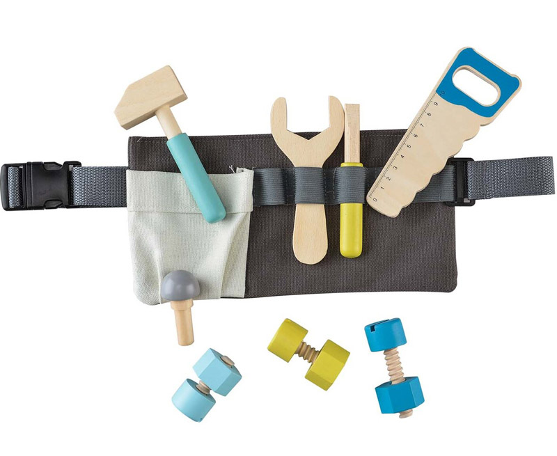 Wooden Toy Tool Belt