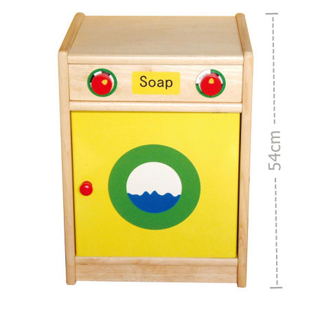 Wooden Play Washing Machine